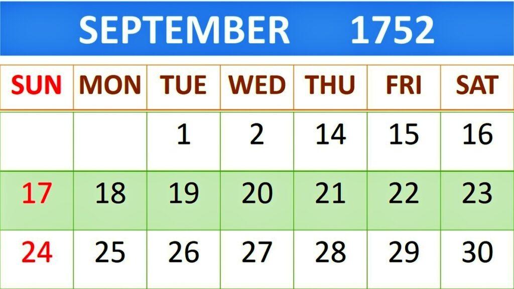 ১৭৫২ সালে ইংল্যান্ডের ক্যালেন্ডার থেকে ১১ দিন ভ্যানিশ করা হয়েছিল, কিন্তু কেন?