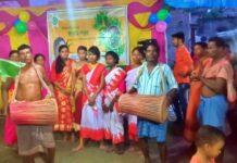 চিরাচরিত প্রথা মেনেই শেষ হল নওয়াপাড়া গ্রামের 'করম পরব'